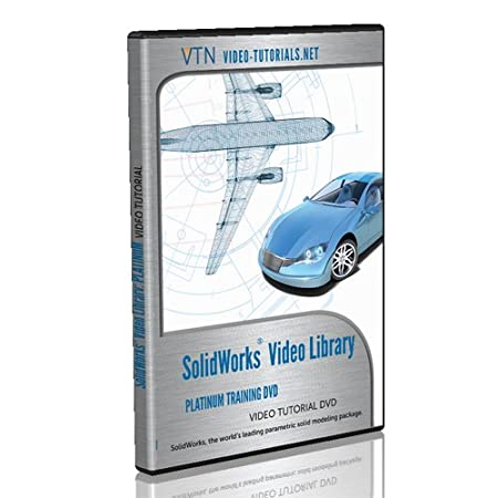 SolidWorks Video Tutorial DVD - Platinum Training Bundle -The Complete SolidWorks Library