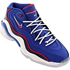Nike Mens Air Zoom Flight 96 Iverson Basketball Shoes Game Royal Blue/University Red 317980-400 Size 10.5