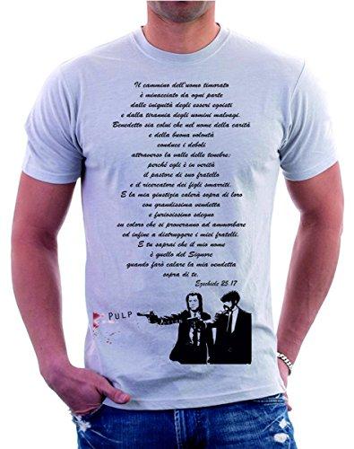 t-shirt - frase completa ezechiele 25.17 - maglietta by tshirteria