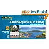 Bikeline Radtourenbuch Mecklenburgischer Seen-Radweg. Von Lüneburg nach Usedom, 1 : 75 000, wetterfest/reißfest...
