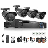 SANNCE 8CH Full 960H Video DVR 1TB HDD with 4 900T...