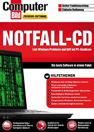 Notfall-CD (Computer Bild)