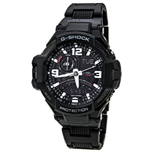 G-Shock GA-1000FC-1ACR Aviation Series Men's Stylish Watch - Black / One Size