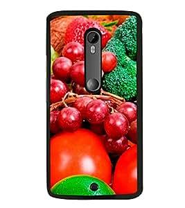 Fruits 2D Hard Polycarbonate Designer Back Case Cover for Motorola Moto X Style :: Moto X Pure Edition