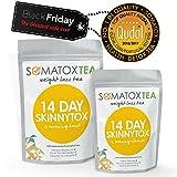 Weight Loss Tea - BLACK FRIDAY DEAL - 14 Day Skinnytox + FREE BONUS eBOOK - Contains Garcinia Cambogia - Premium Detox Tea (Teatox • Green Tea • Diet Tea • Slimming Tea • Burn Fat • Lose Belly Fat • Skinny Tea • Herbal Tea • Colon Cleanse) SOMATOX Advance