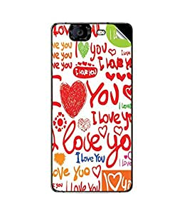 instyler SKIN STICKER FOR MICROMAX CANVAS KNIGHT A350
