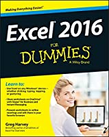 Excel 2016 For Dummies Front Cover