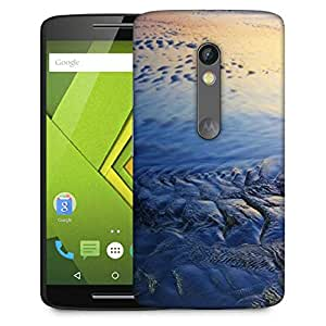 Snoogg Beach Texture Designer Protective Phone Back Case Cover For Moto G 3rd Generation