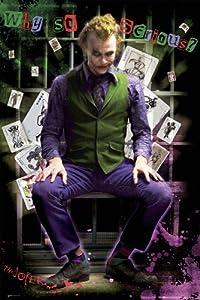 GB eye Ltd, Batman, Dark Knight, Joker, Jail, Maxi Poster, (61 x 91.5 cm) FP2100