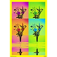 "PixTopper Flowers In A Vase 12 Canvas Poster(Large 44""x44"")"