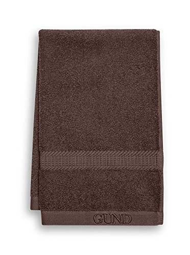 GUND Bear Essential Ringspun Hand Towel, Beary Brown, 16'' By 26''