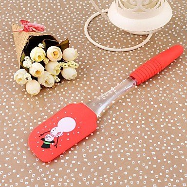 LLsai Small Size High QualiLLsai Silicon Kitchen Cooking Tools Baking Tools Butter Scraper