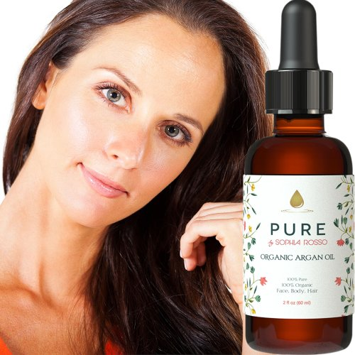 PURE, Organic Argan Oil for Hair, Face, Skin and Nails. Best Daily Hair and Body Moisturizer - Natural Anti-Aging, Anti-Wrinkle Skin Care Product - Pure Cold Pressed Virgin Argan Oil - Authentically Moroccan - Rich in Vitamin E, Antioxidants and Anti-inflammatory properties - Repairs Damaged Hair and Fights Frizz - Ecocert & USDA Organic Certified and Covered by Our 90-Day No-Questions Asked Money Back Guarantee! + bonus FREE Ebook (limited availability)