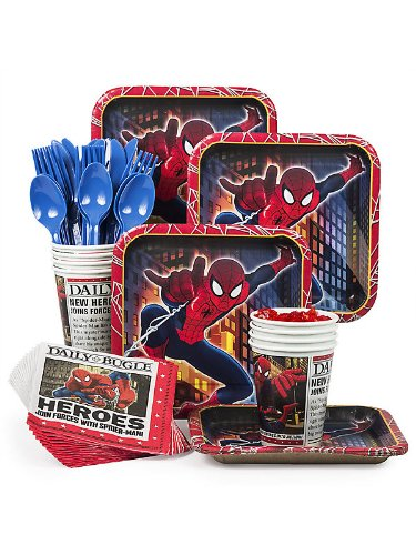 Costume Supercenter Bbkit378 Spider-Man Standard Kit (Serves 8)