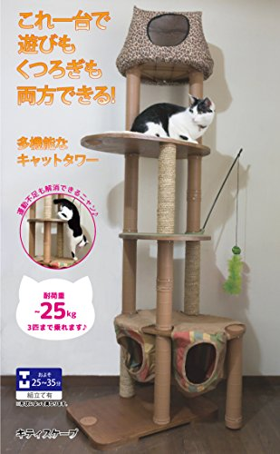 Solvit Kitty'scape Play Structure Deluxe Kit for Cats