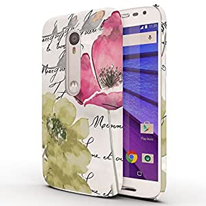 Koveru Back Cover Case for Motorola Moto G3 - Pop of Colour