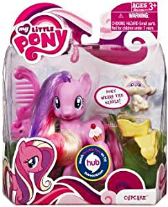 My Little Pony Basic Figure Cupcake with Animal Friend