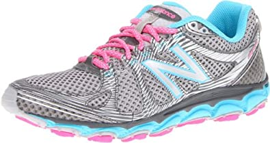 New Balance Women's WT810v2 Trail Running Shoe,Blue/Grey,5.5 B US