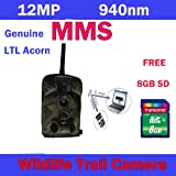 FedEx Shipping Ltl Acorn 5210MM Mobile MMS Email Scouting Hunting Game Camera 940nm No Glow 8GB