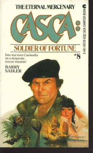 Casca #08: Soldier of Fortune, Barry Sadler