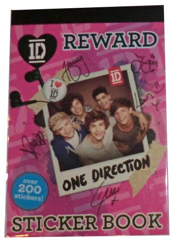 1D One Direction Reward Sticker Book