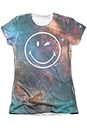 Smiley Galactic Smiley Juniors Sublimation Shirt