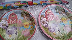 UBL Barnyard Theme Kids Birthday Party set