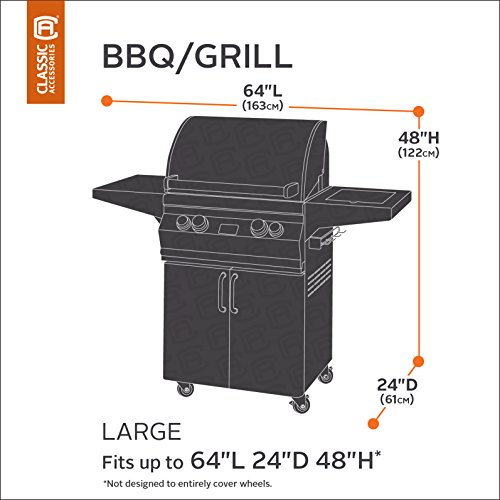 classic accessories ravenna grill cover premium bbq cover with