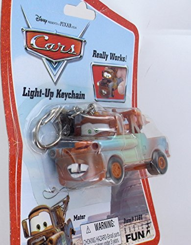 Mater Car's Disney Light-Up Keychain - 1