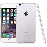#10: RTCO™ Anti-scratch Transparent Crystal Clear Hard Case Cover For Apple iPhone 6 / 6S (Free Audio Splitter)