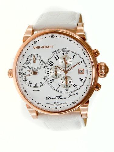 Uhr-kraft Uhr-kraft 27002/1rgw Dualtimer Mens Watch