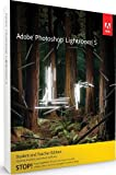 Software - Adobe Photoshop Lightroom 5 Student and Teacher* WIN & MAC