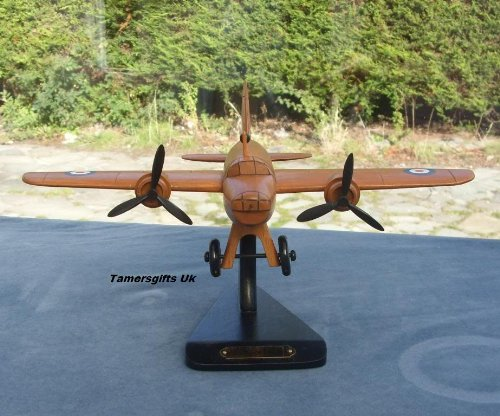 Vickers Wellington Wooden Aircraft Airplane Model Bnew