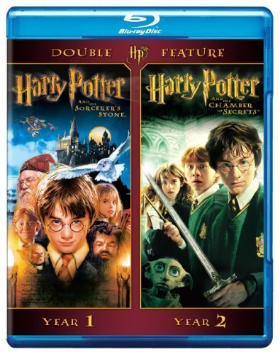 Harry Potter Double Feature: Harry Potter and the Sorcerer's Stone / Harry Potter and the Chamber of Secrets [Blu-ray] by Warner Home Video by Chris Columbus