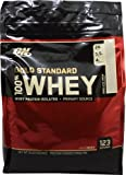 Optimum Nutrition 100% Whey Gold Standard, 8 Pound Vanilla Ice Cream