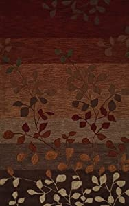 Dalyn Rugs Studio SD 1 3-Feet 6-Inch by 5-Feet 6-Inch Area Rug, Paprika