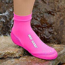 Generic Sand Socks Kid's Grip Bottom Neoprene Athletic Socks