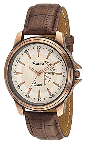 Xeno-Analog-Beige-Dial-Mens-Watch-ZDK1200048