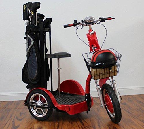 Challenger X Golf Electric Recreational Mobility Scooter Cart 3-Wheel 750 Watt Motor