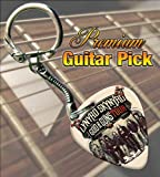 Lynyrd Skynyrd God & Guns Tour Premium Guitar Pick Keyring