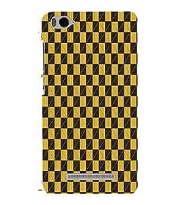 Checks Cheks Chess Cute Fashion 3D Hard Polycarbonate Designer Back Case Cover for Xiaomi Mi 4i :: Xiaomi Redmi Mi 4i