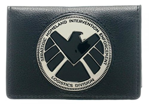 Marvel Agents of Shield Metal Badge ID WALLET (Marvel Agents Of Shield Wallet compare prices)