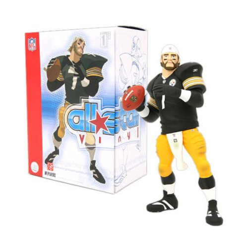 Buy Low Price Upper Deck Upper Deck NFL All-Star Vinyl Pittsburgh Steelers – Ben Roethlisberger Figure (B000PJLVB8)