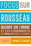 Rousseau Discours Sur l'Origine & les Fondements de l'Inégalité Parmi les Hommes