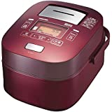 東芝 真空圧力IHジャー炊飯器(5.5合炊き) レッドTOSHIBA 真空圧力かまど炊き(真空圧力IH保温釜) RC-10VXH-R