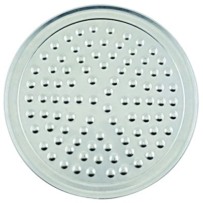 "Winco APZN-16, 16""Dia Aluminum Wide Rim Pizza Tray with Nibs, Round Pizza Pan, Pizza Screen"