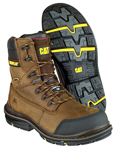 Caterpillar - Brown - Lace-Up Mens Boots - Size 7