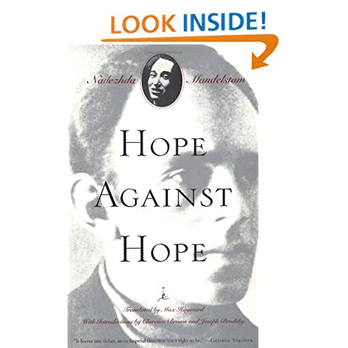 Hope Against Hope: A Memoir