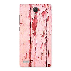Enticing Ripped Wood Print Back Case Cover for Redmi Note 4
