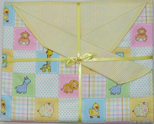 Baby Critters Baby Blanket Blanket for Girls. Great for Newborn or Toddler. Baby Gift.